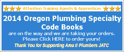 Order Your 2014 Oregon Plumbing Specialty Code Book