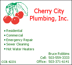 Cherry City Plumbing Salem Oregon