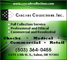 Cascade Collections, Inc., Specializing in Collecting on Checks, Medical, Commercial, and Retail Debt